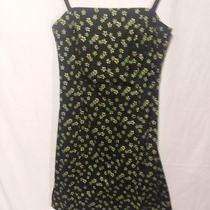 The Limited stretch size 2 floral rockabilly dress